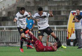 Botafogo-PB e Ferroviário-CE fazem jogo fraco e não saem do zero na estreia