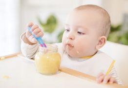 Saiba como introduzir alimentos sólidos na alimentação do bebê