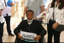 VÍDEO: Damião Feliciano se recupera da covid-19 e recebe alta após dois meses internado
