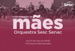 Sesc Paraíba realiza live com a Orquestra Sesc Senac Dom Ulrico em homenagem às mães