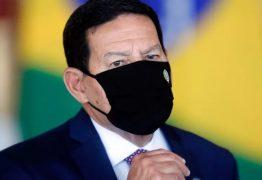 """Mourão defende isolamento e diz que não deve ser candidato a vice de Bolsonaro: """"Provavelmente irá escolher outra pessoa"""""""