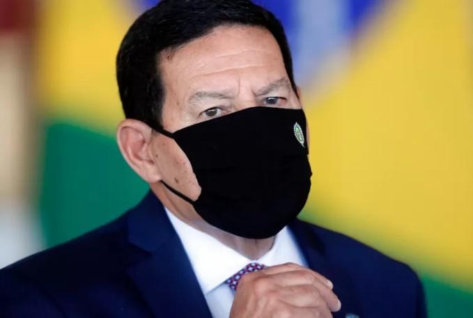 mourao - 'Sem comentários', diz Mourão sobre crítica feita por Bolsonaro no Sistema Arapuan