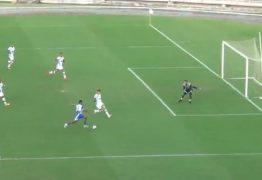 Jogo entre Nacional de Patos e Atlético-PB é movimentado, e partida encerra com empate no Amigão