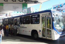 Campina Grande tem frota de ônibus reduzida a 60% circulando no Dia do Trabalho
