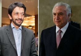 Temer se encontra com novo prefeito de São Paulo e o aconselha a ter serenidade