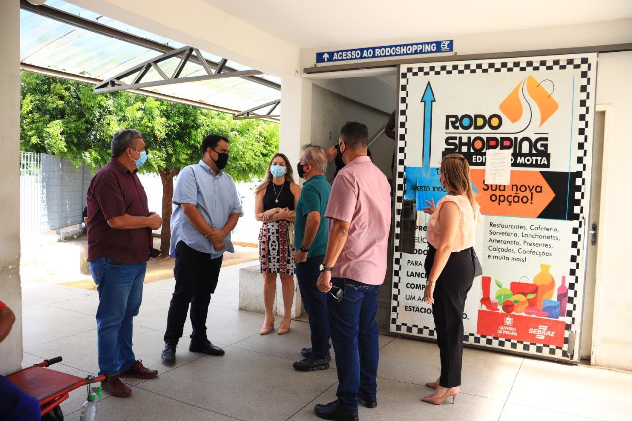 visita 1 - Prefeito de Patos recebe a visita do Secretário Estadual de Turismo e Desenvolvimento Econômico da Paraíba