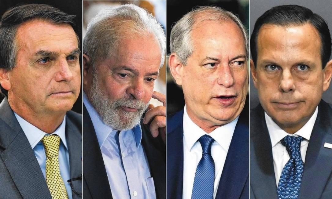 PREFERÊNCIAS: Bolsonaro, Lula, Ciro e Doria já avaliam perfis para vice em 2022; entenda