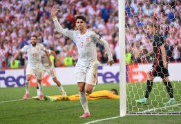 NA PRORROGAÇÃO: Espanha vai às quartas da Eurocopa após vencer a Croácia por 5×3