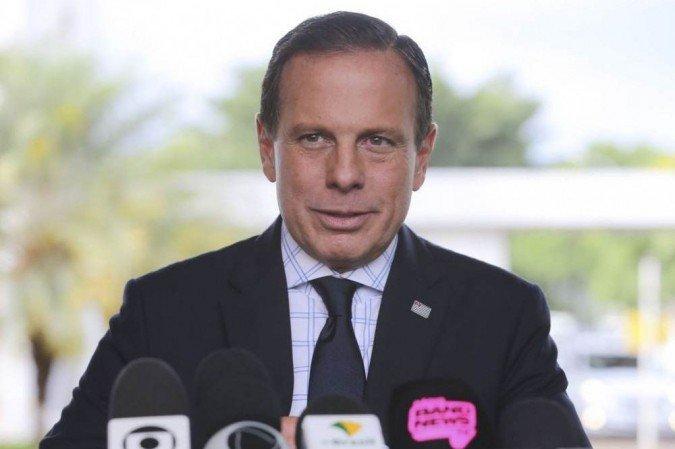 """1 edit vac abr ebc 221020196102 6645415 - João Doria chama Bolsonaro de """"Messias da morte"""", critica seu partido e cita Ruy Carneiro como nome para disputa na PB em 2022"""