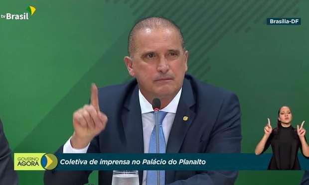 20210623190104285517u - 'DENUNCIAÇÃO CALUNIOSA': Governo diz que não pagou vacinas e manda PF investigar Luís Miranda, diz Onyx