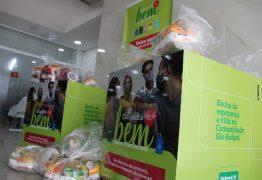 Unimed JP doa 5 toneladas de alimentos e 500 litros de álcool 70% para Comunidade São Rafael