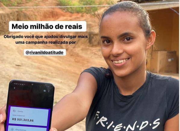 CIRURGIA NO PESCOÇO: Tamyris Cordeiro consegue meio milhão de reais e agradece doações