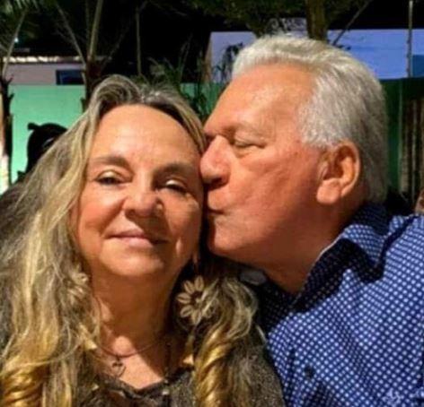 DRA PAULA E ALDEMIR - 'Respira normalmente': Drª Paula toma café com José Aldemir em hospital e pede orações por prefeito