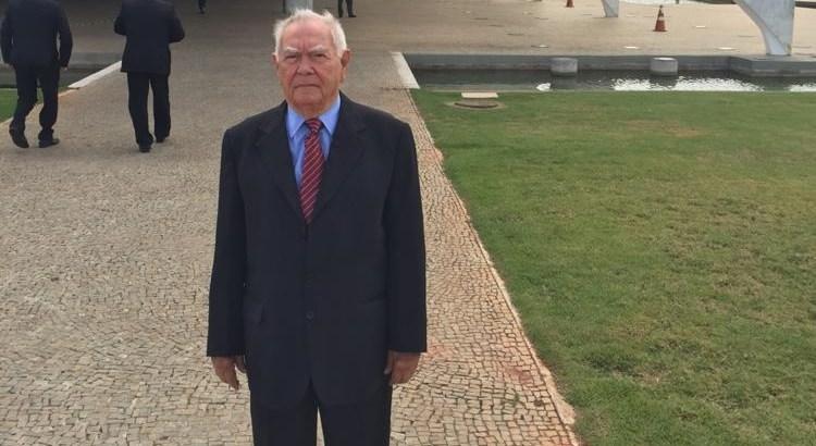 Homero Pires em Brasilia - Vítima da Covid-19: morre Homero Pires, pai do deputado Lindolfo Pires
