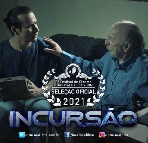 INCURSAO - 'Incursão': filmado em Bananeiras, longa-metragem é premiado em festival no Paraná