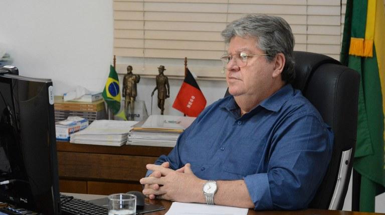 """JOAO AZEVEDO 2 - João diz que espera por definições sobre legislação eleitoral para iniciar conversas sobre chapa e elogia Efraim, Aguinaldo, Galdino e Hugo Motta: """"Todos contribuem"""""""