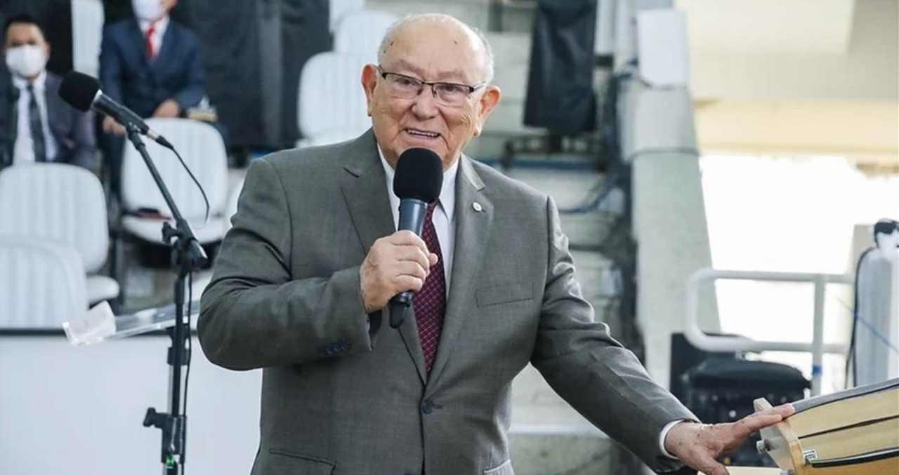Pastor Jose Wellington Reproducao - Presidente da Assembleia de Deus recebe alta após internação de 28 dias por Covid-19