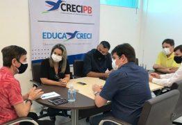 Prefeitura de Conde e Creci discutem parcerias em prol dos corretores de imóveis do litoral sul paraibano