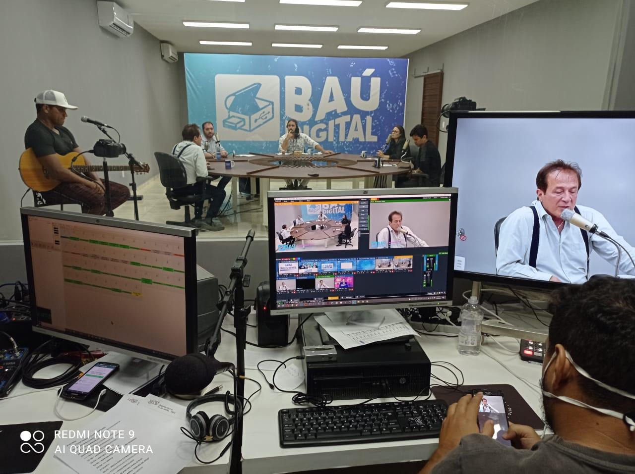 WhatsApp Image 2021 06 14 at 21.42.01 - Com a participação de Abelardo Jurema, programa Baú Digital estreia na 105 FM e plataformas digitais - VEJA VÍDEO