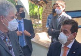 Gervásio Maia explica conversa com Ricardo Coutinho: 'amenidades e pandemia'