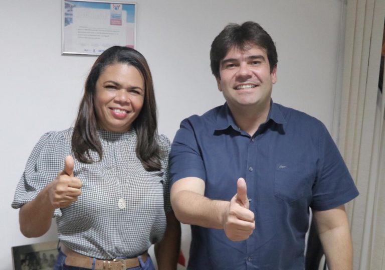 WhatsApp Image 2021 06 22 at 19.24.31 - Prefeita de Pitimbu anuncia apoio à reeleição do deputado Eduardo Carneiro