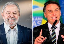 Enquete do Arapuan Verdade aponta Lula com 68% e Bolsonaro com 28% dos votos na disputa para as eleições em 2022