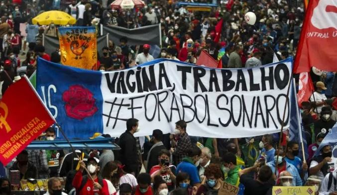 Novo ato contra Bolsonaro já tem data anunciada por movimentos sociais