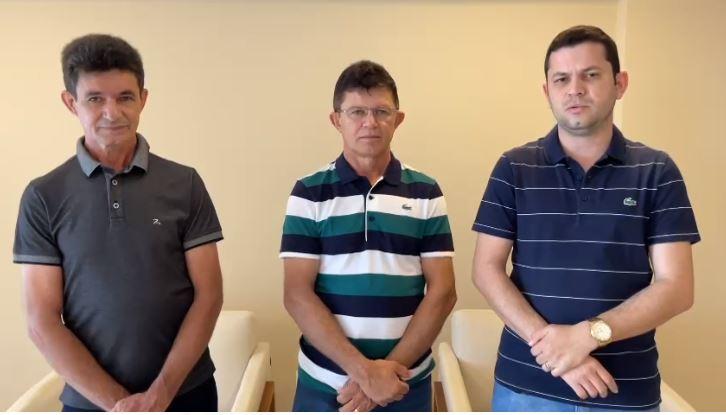 bruno roberto 2 - Pré-candidato ao Senado, Bruno Roberto recebe apoio de prefeito e ex-prefeito de Pedra Branca