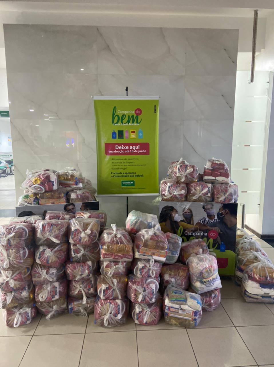 campanha do bem 1  - Unimed João Pessoa recebe doações para Campanha do Bem até a próxima sexta-feira (18)