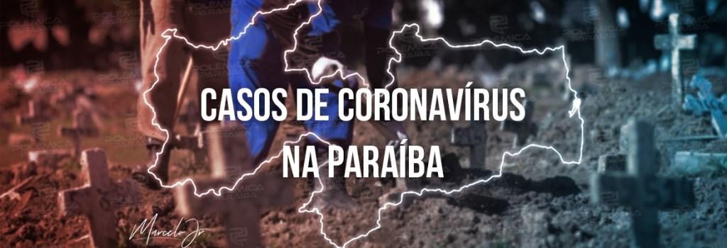 casos coronavirus 1 - Paraíba registra 797 novos casos e 09 óbitos por covid-19 nesta quarta