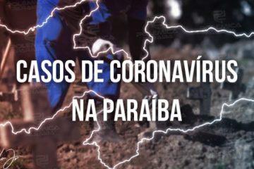 Paraíba registra 168 novos casos de covid-19 em 24h