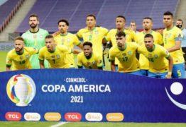 Seleção brasileira avança na Copa e segue como líder do Grupo B
