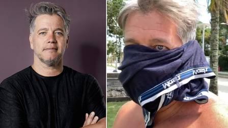 david cardoso - Ator David Cardoso é internado com Covid-19 após participar de protesto contra isolamento, com cueca no rosto