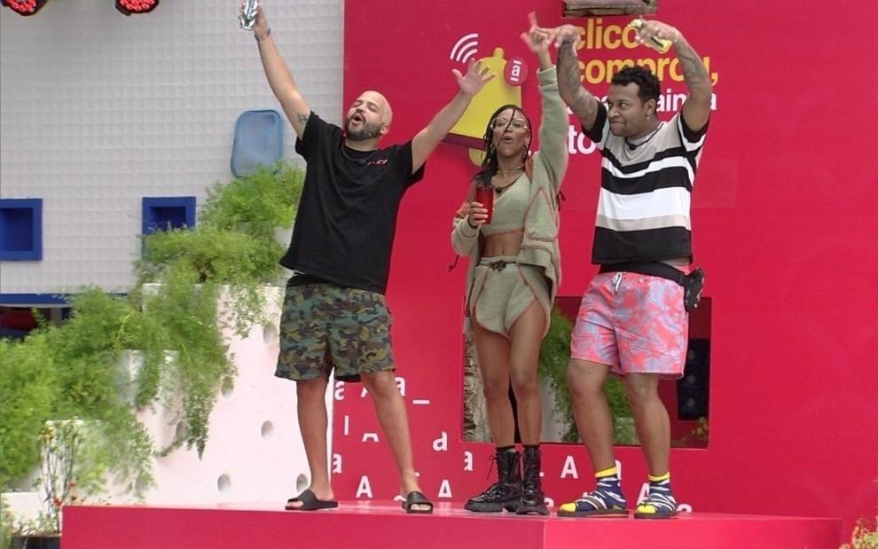 eliminados cancelados bbb21 grupo fixed large - Nego Di monta grupo com cancelados do BBB21, e Projota se recusa a entrar