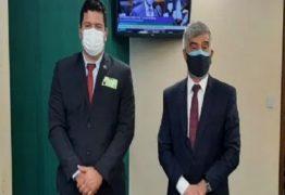 Em Brasília, prefeito de Prata se reúne com deputado Wellington Roberto e consegue emendas para a saúde