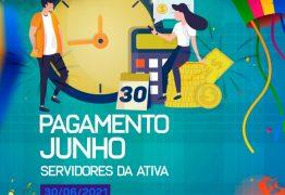 Prefeitura de Conde paga servidores dentro de mês trabalhado