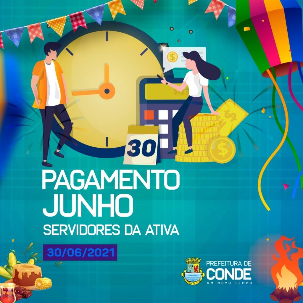 img 202106291827EyDb - Prefeitura de Conde paga servidores dentro de mês trabalhado