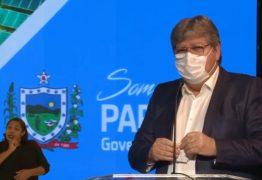 """Durante pronunciamento, João Azevêdo fala sobre a importância do uso da máscara e manda indireta """"Não acreditem no que dizem por aí"""""""