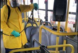 Ônibus do transporte coletivo de João Pessoa são higienizados diariamente com limpeza reforçada