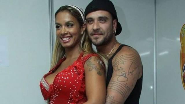 milena nogueira e diogo - Ex-esposa de Diogo Nogueira manda indireta sobre Paolla Oliveira após boatos de romance entre eles