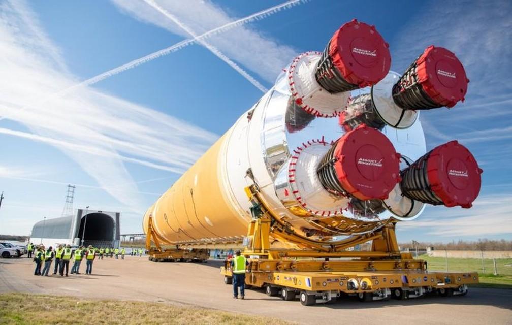 nasa 1 - Tudo sobre foguete gigante da Nasa que vai levar astronautas à Lua e a Marte