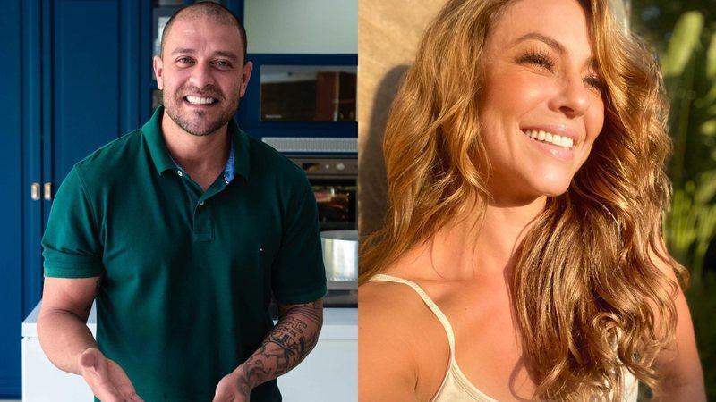 paolla e diogo - Ex-esposa de Diogo Nogueira manda indireta sobre Paolla Oliveira após boatos de romance entre eles