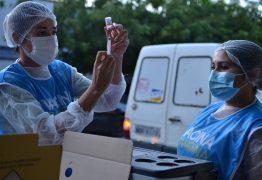 João Pessoa segue com aplicação de segundas doses de vacinas contra a Covid-19, nesta quinta