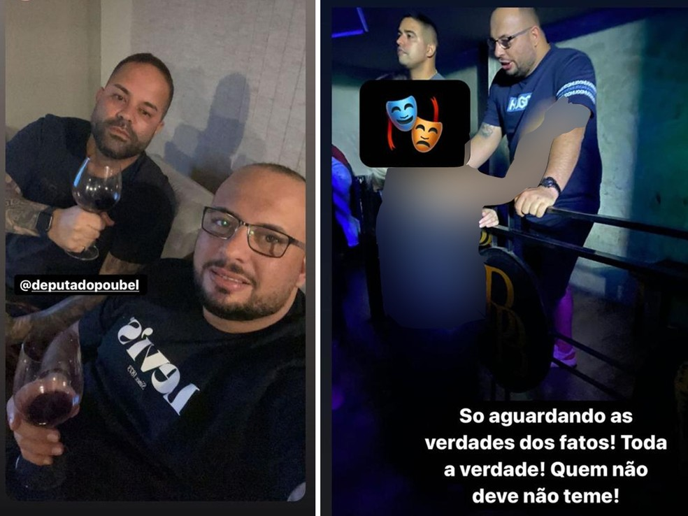07boate - EM TOM DE DEBOCHE: Deputado e policial postam foto brindando após denuncia de estupro na boate deles