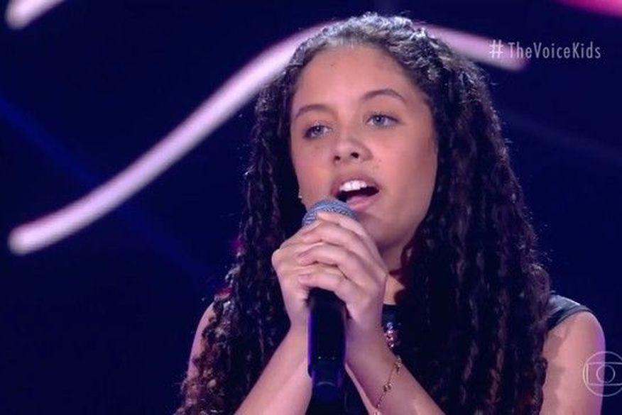 1 - PARAÍBA EM DESTAQUE: Camilla Souto encanta Carlinhos Brown e é a sétima criança do estado a entrar para o The Voice Kids