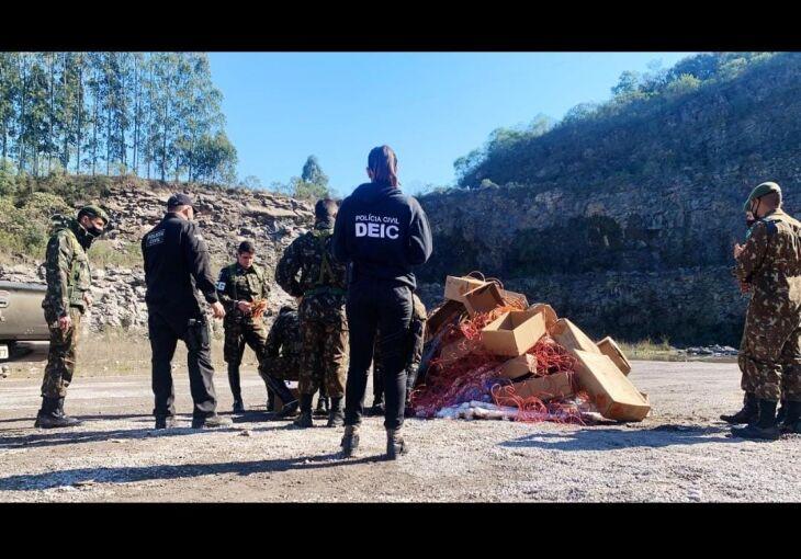 117452 1625771606 - TRAGÉDIA: três pessoas morrem durante detonação de artefatos explosivos em Guaporé