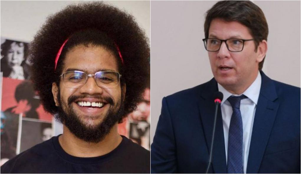 """1626428453199755 - Mario Frias é acusado de racismo após sugerir """"banho"""" a historiador negro"""