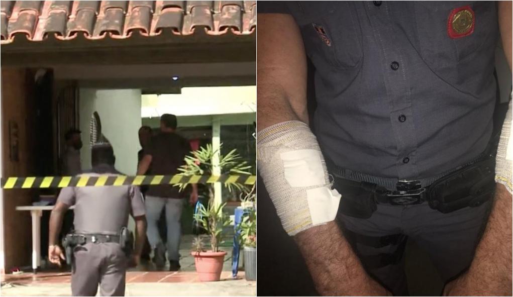 1626433525518314 - Suspeito de matar mãe e filhas a facadas é morto em confronto com a PM