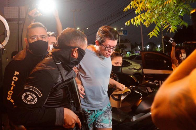 1 prisao dj ivis 5 16411525 - Audiência de custódia de DJ Ivis deve acontecer ainda nesta sexta; defesa pede revogação da prisão