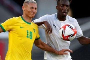 Brasil joga com um a menos e só empata com a Costa do Marfim